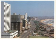 Durban Seafront when I lived there 1976 Some Pictures, Willis Tower, Live, San Francisco Skyline, South Africa, The Good Place, Skyscraper, African, Building