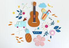Illustrations for sisterMag magazine