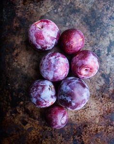 Kimberley Hasselbrink, Plums   purple food photography