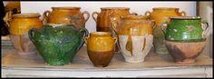 Collections {Antique French Confit Pots}