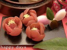 小梅で梅の花☆お正月☆お節のお飾りに plum flower from http://cookpad.com/recipe/480232