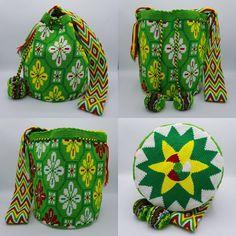 36 отметок «Нравится», 1 комментариев — Wela DD. (@wela.wayuu) в Instagram: «❤️ Wayuu bag Double thread size L   รุ่นด้ายคู่ ไซส์ L  เส้นผ่าศูนย์กลางก้นกระเป๋า 24 ซม.…»
