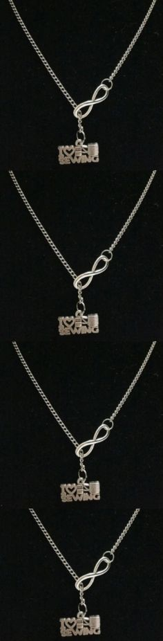 """""""I Love Sewing"""" & Digital 8 charm Pendant Necklace! Click The Image To Buy It Now or Tag Someone You Want To Buy This For. #Sewing"""