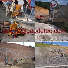 Gaodetec is a company specializing in the shotcrete machine supplier in China.Has more than 20 years of experience in this field, we are now developing dry mix wet concrete shotcrete machine and injection machine.Our spray machines exported to Canada, the United States, India, Malaysia, Nepal, Pakistan, South Korea, bahrain, etc.