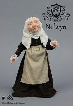 OOAK Art Doll Sculpture  Nelwyn Fairy by Ksheyna by nightswood