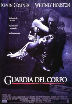 The Bodyguard Directed by Mick Jackson. With Kevin Costner, Whitney Houston, Gary Kemp, Bill Cobbs. A former Secret Service agent takes on the job of bodyguard to a pop singer, whose lifestyle is most unlike a President's. 90s Movies, Great Movies, Movies To Watch, Beau Film, Film Movie, Kevin Costner Whitney Houston, The Bodyguard Movie, Films Cinema, Romantic Films