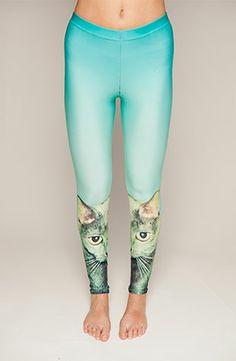 Drop Dead - Cat Stare Leggings - £25 - http://store.iheartdropdead.com/product.php/5653/cat_stare_leggings