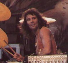 Ainsley Dunbar the original drummer for Journey Left after Infinity.
