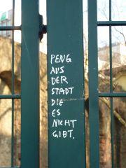 #Streetart Frankfurt - #Peng.