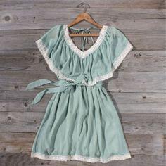 Mint Whisper Dress