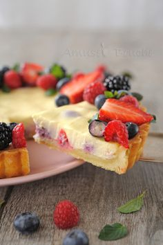 Tarte cheesecake et fruits rouges (16)