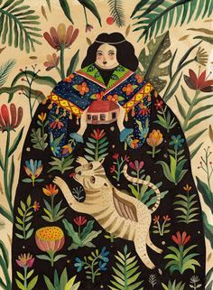 new mexican folklore illustrations - Google Search