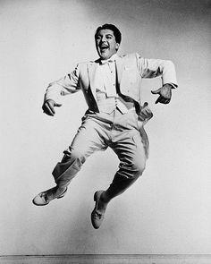 "Liberace From ""Philippe Halsman's Jump Book"" — reissued by Abrams Magnum Photos, Famous Photographers, Portrait Photographers, Salvador Dali, Philippe Halsman, Jumping For Joy, Art Graphique, Photoshop, Brigitte Bardot"