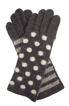 Wool & angora super-soft gloves from Vincent Pradier's F/W 2012 collection