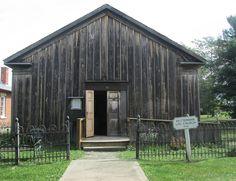 Detterman Log Church