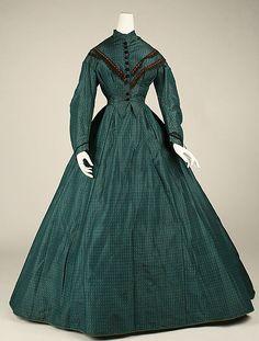 Dress 1863, American