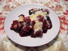 3 Minute Prep Time Berry Medley Cobbler (recipe, pics) | Eating Healthy and Losing Weight Along the Way