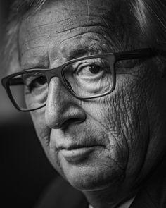 Jean-Claude Juncker, verre de rage