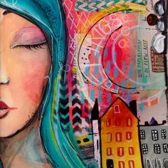 www.artbymarlene.nl love mark making