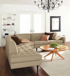Reese Custom Sectionals   Create Your Own Configuration   Custom   Room U0026  Board. Sectional Living RoomsSectional SofasModern ...