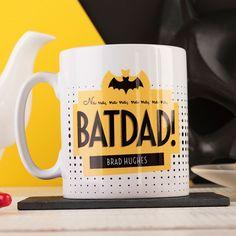 Personalised Mug - Batdad! | GettingPersonal.co.uk