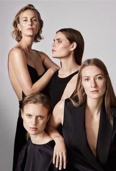 Top Models Pose for Elle Sweden December 2016 Cover Story Top Model Poses, Fashion Model Poses, Group Photography, Portrait Photography, Group Photo Poses, Pose Reference Photo, Photo Grouping, Portrait Poses, Jolie Photo