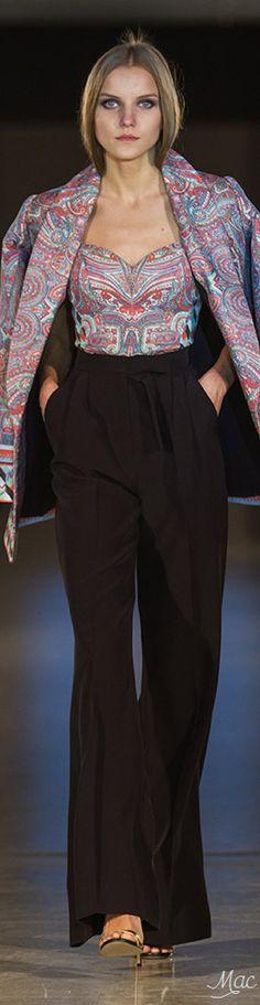 Spring 2017 Ready-to-Wear Oksana Mukha Atelier Collection