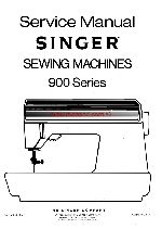 Singer 900 Futura II Sewing Machine Cleaning, oiling, and