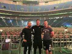Zack Sabre Jr., Will Ospreay, and Marty Scrull at Tokyo Dome