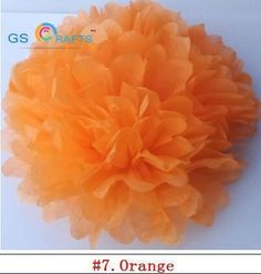"""#0079 30pcs 4"""" 6"""" 8""""(10cm 15cm 20cm) decorative Tissue Paper Pom Poms Mix Color Party Decorations"""