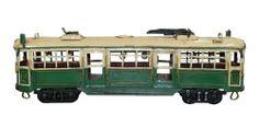 Melbourne W Class Tram - classic rustic model tram - a melbourne icon.                                                    #giftsformen #birthdaygiftsformen #modeltram