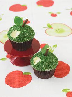 Onko vihreä omena oma suosikkisi? #omena #kuppikakku #apple #cupcake