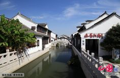 Luzhi ancient town  A distance of 18km from the Suzhou districts in the west and 58km from Shanghai in the east, Luzhi is a well-preserved water town in the Taihu Lake Basin.