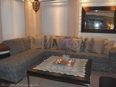 PERNILLES INTERIØRSYSLER! Couch, Furniture, Home Decor, Settee, Decoration Home, Room Decor, Sofas, Home Furnishings, Sofa