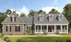 Appealing 3 Bed Country House Plan - 36060DK | Country, Traditional, 1st Floor Master Suite, Bonus Room, Butler Walk-in Pantry, CAD Available, Jack & Jill Bath, PDF, Split Bedrooms, Corner Lot | Architectural Designs