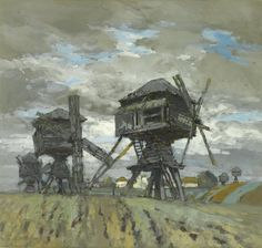 konstantin gorbatov - windmills [1911]