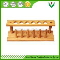 Wooden Test Tube Rack / chemistry lab equipment