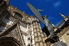 The Cathedral and it's beautiful details can't be missed, even if you only have 24 hours in Seville!