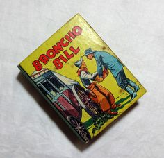 1940 Broncho Bill by Harry F. O'Neill, Vintage Western Cowboy Story, Illustrated Children's Jumbo Book by OakwoodView