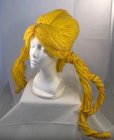 Foam (pool noodle) wig tutorial