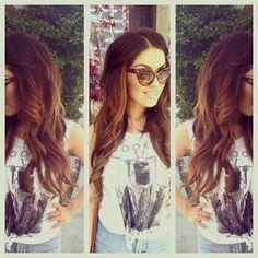 Lovely hair colour