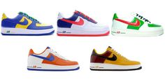 Nike Air Force 1 Low « World Cup pack » 2006 I want them!