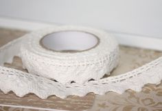Fabric Tape. Borte. Spitze. Lace. Selbstklebend