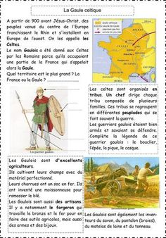 5 fiches sur l'Antiquité Cycle 3, Homeschool, Culture, French, History, Memes, Learn French, History Education, World Discovery