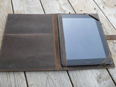Handmade Leather Ipad Case by UrbanCow on Etsy, $95.00
