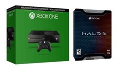 Refurb Xbox One 500GB Console w/ halo 5$199.99@groupon