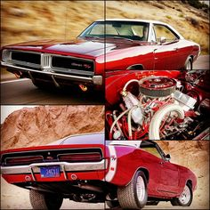 """u-musclecars: """" 1969 Dodge Charger SE R/T ——————————— Fast facts Engine: An original 440 Magnum car, it now sports a Tony Richard/Ray Barton-built, 572-inch RB with Brodix heads, 11.3:0 compression JE..."""