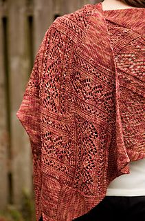 Entrelac is one of my favorite knitting techniques. I love its modular nature - the triangles that start and end every other row, the center rectangles knitted onto the piece as you go. If you loved my other entrelac wrap pattern, Birch, Stampede is like Birch's big sister!