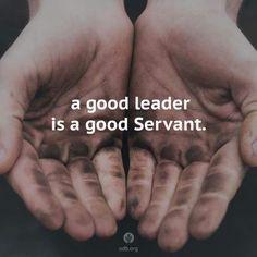 Leader servant