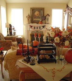 I want to decorate my house like this and have a Halloween get-together.